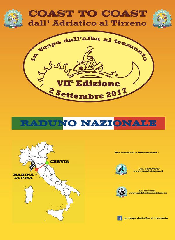 locandina-coast-to-coast-settembre-2017-vespa-club-faenza